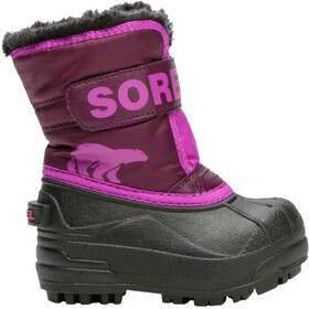 Sorel Snow Commander Saappaat Pikkulapset, purple dahlia/groovy pink